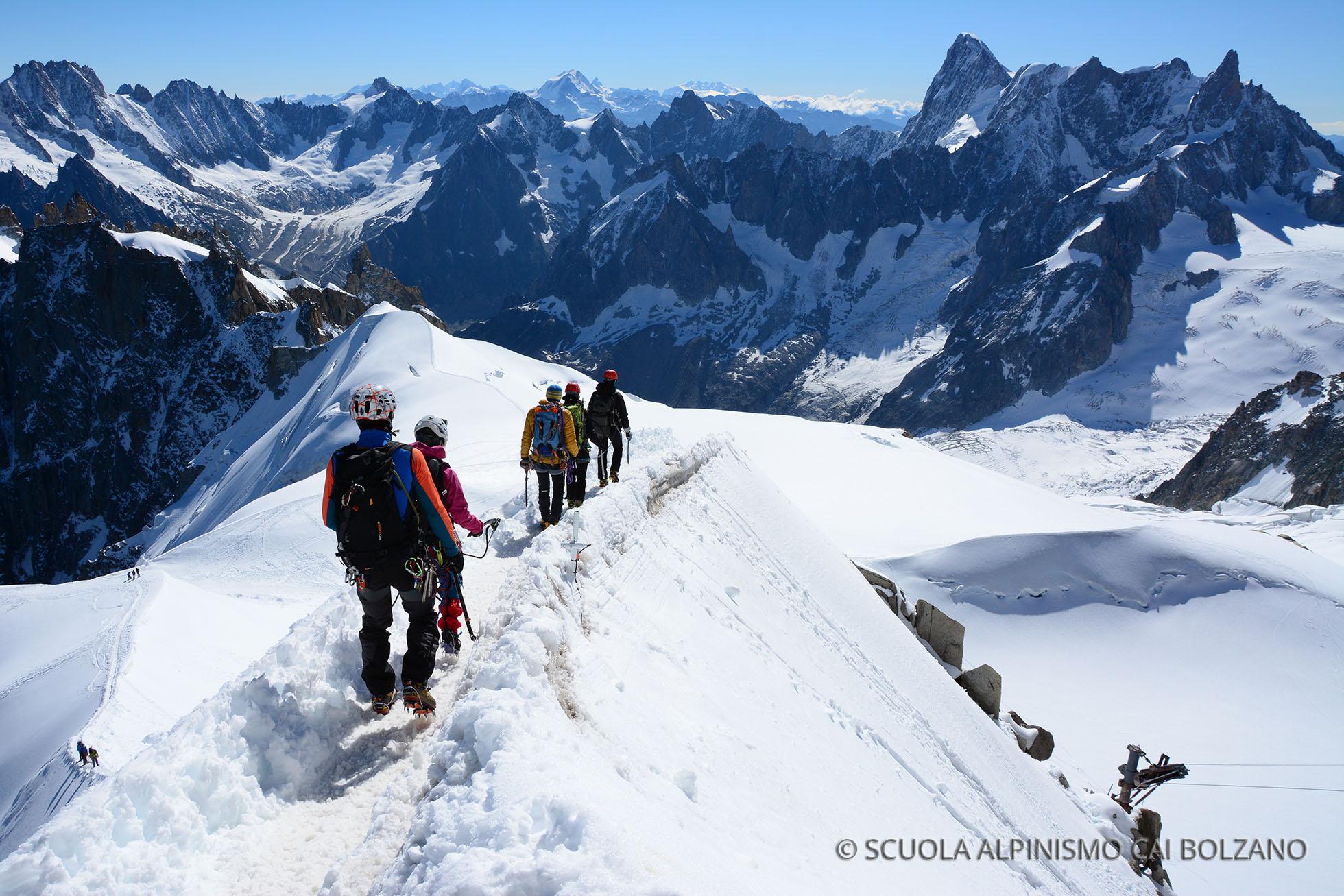 Aggiornamento istruttori Monte Bianco